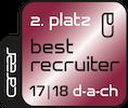 Best Recruiter DACH Zweiter 17 18
