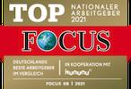 TOP Nationaler Arbeitgeber 2021