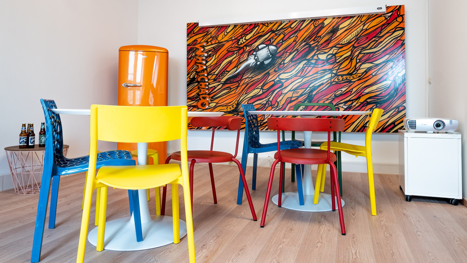 Colorful Meeting Room