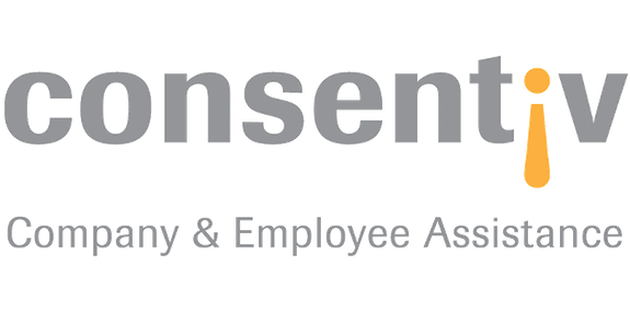 Logo of consentiv employee assistance services gmbh