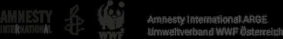 Logo of AIWWF – Arge Amnesty International Österreich & Umweltverband WWF Österreich