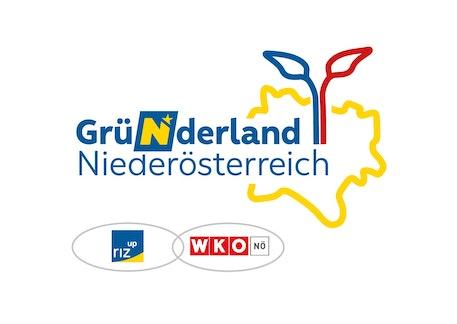 Logo of Gründerland Niederösterreich